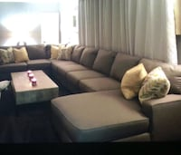 Black and gray sectional couch Fort Lauderdale, 33315
