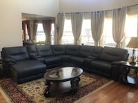 Leather Sectional Johns Creek, 30041