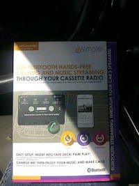 Bluetooth hands-free calling and music streaming for your cassette rad Edmond, 73025