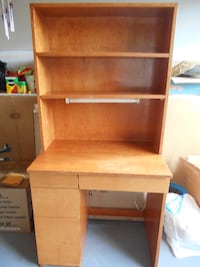 Solid Wood Desk w/ Maple Stain - great for a child FREDERICK
