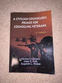 A civilian counselors primer for counseling veterans book Annandale, 22003