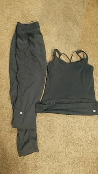 lulu lemon top and pants Medicine Hat, T1C 1G2