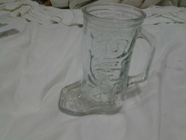 Used 1930s Cowboy Boot Glass For Sale In Lewiston Letgo