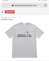 Supreme graphic tee shirt  Silver Spring, 20902