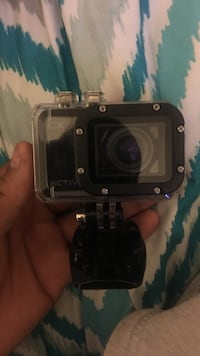black action camera with waterproof case Waldorf, 20601