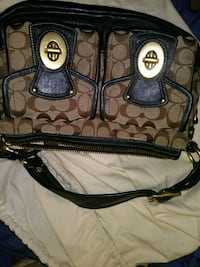 Coach Brown & tan handbag Hesperia