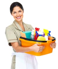 Cleaning lady available  Mississauga