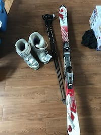 Apache skis with brand new poles and boots!  Vancouver, V5K 2L4