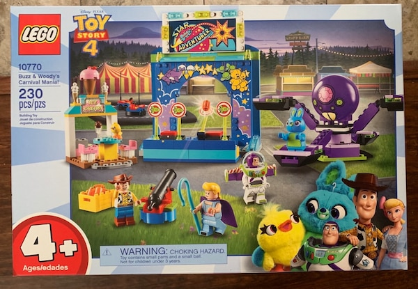 Used Lego Toy Story 4 Buzz Woody S Carnival Mania For Sale In