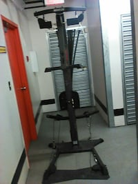 black and gray Bowflex exercise equipment New Westminster, V3L 4A6
