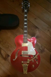 red and white electric guitar North Attleborough, 02760