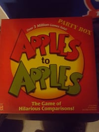 Apples to apples The Game of Hilarious Comparisons party box Manalapan Township, 07726