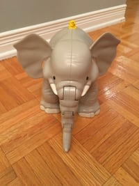Gray elephant plastic toy with sounds MONTREAL