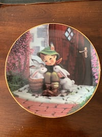 Hummel Collector Plate playmates