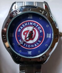 Stainless Steel Washington Nationals Watch Baltimore, 21224