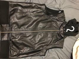 Guess Leather Fall Jacket