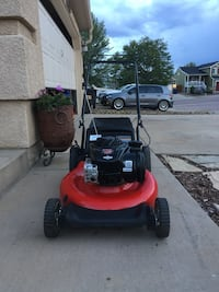 Yard machines powered by Briggs Stratton high performance high wheeler start right up 5.0 horse power 140cc  Colorado Springs, 80906