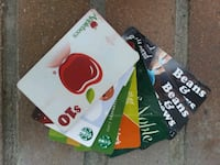 20% off Various Gift Cards