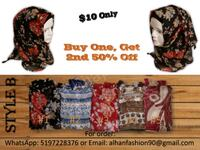 Multi-color cotton hijab for sale Kitchener, N2C 2S1