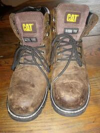 Steel toed work boots..good condition..sz10.  Hamilton, 49419