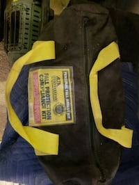 black and yellow zip-up jacket Milford, 19963