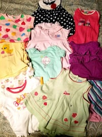 15 piece lot baby girls clothes 6/9 month lot (15  Blountville, 37617