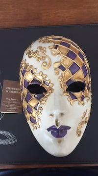Authentic italian made/bought masquerade mask  Calgary, T3R