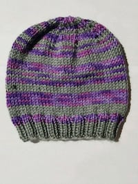 purple, green, and pink knit cap Calgary, T3L 2B1