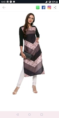 women's black and brown sleeveless dress Mumbai, 400011