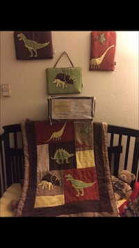 Dinosaurs Crib Bedding Collection Quality Made by Sweet Jojo Designs San Leandro, 94578