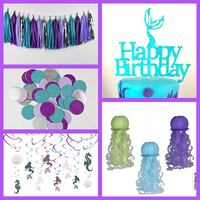 Mermaid Party Supplies LOT $80 for all Fort Washington, 20744