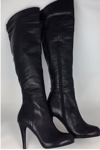 ALDO Fiona Leather Over the Knee Heeled Boots: Size 6 Toronto, M1S