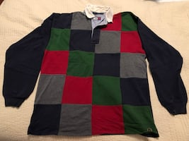 Tommy Hilfiger Men's Rugby Style Shirt - Size M