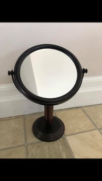 Bronze Plated Two Sided Mirror  Aurora, L4G 2T7