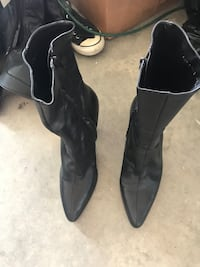 Antonio Melani Leather Boots Size 10 Phenix City, 36869