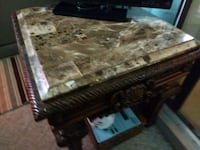 brown and white wooden table 383 mi