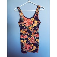Floral dress from forever 21 (size large but fits like a medium)