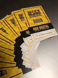 Business Cards by The Design Dept