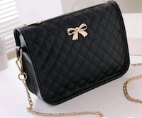 black Chanel leather crossbody bag Tuscaloosa, 35405