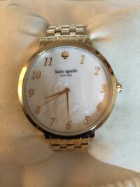 Kate Spade gold watch NWT