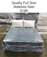 Full Size Mattress Sets (New) Financing & Same Day Delivery Available Atlanta, 30318