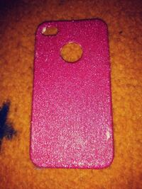 pink iPhone protective case