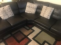 Leather sectional with storage Toronto, M2H 3N2
