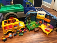 toddler's assorted-color plastic toy lot 964 mi