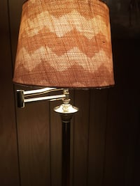 Vintage Inspired Modern Gold Standing Lamp-Adjustable Neck-Working Condition  Myersville, 21773