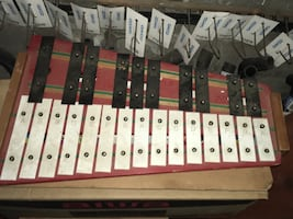 Musical instrument Glockenspiel or bells. Great for kids and adults.