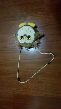yellow and white owl plush toy Youngsville, 70592