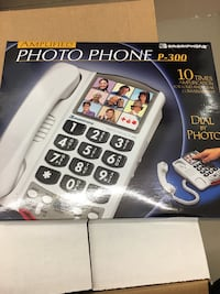 Phone with large numbers, ideal for lower vision.  $30 Toronto, M4P 3G7