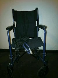 black and blue wheelchair Indianapolis, 46225