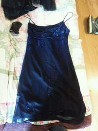 women's black and blue dress formal prom dress Cleveland, 37323